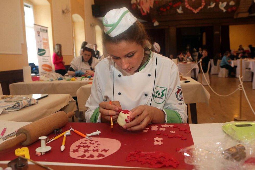 Monika Brunclíková, Prostějov. Soutěž mladých cukrářů O Priessnitzův dortík