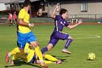 MOL Cup: Šumperk (ve žluté) proti Mohelnici