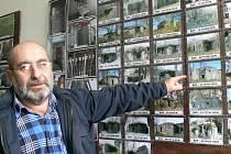 Pavel Füll pečuje o bunkr s krycím názvem Lesík. O opevnění může přednášet celé hodiny.