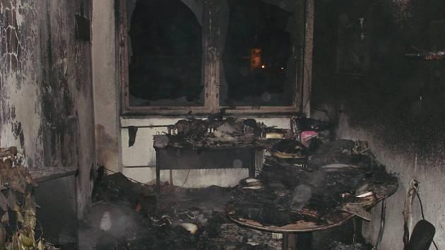 V Bludově hořely kanceláře