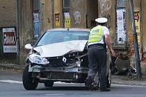 Renault poté, co jel na červenou