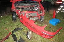 Nedání přednosti bylo příčinou dopravní nehody, která se stala v sobotu 14. listopadu na kruhovém objezdu v Zábřehu