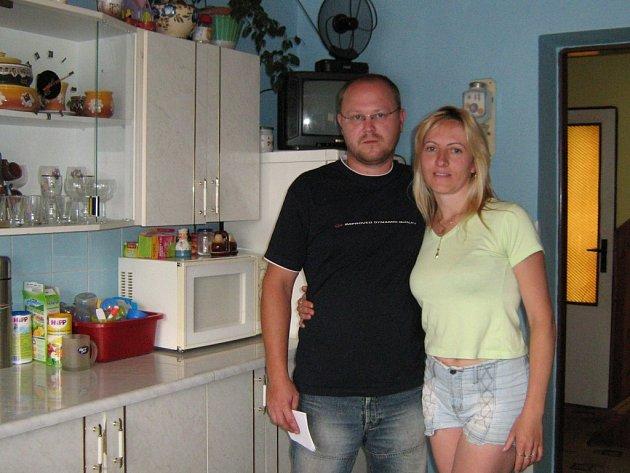 Martin Sumec a jeho partnerka Jarmila Hammerová chtějí od státu férové jednání. Nehodlají se vzdát bez boje.