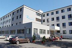 Alzheimercentrum v budově bývalé krizové nemocnice v Zábřehu