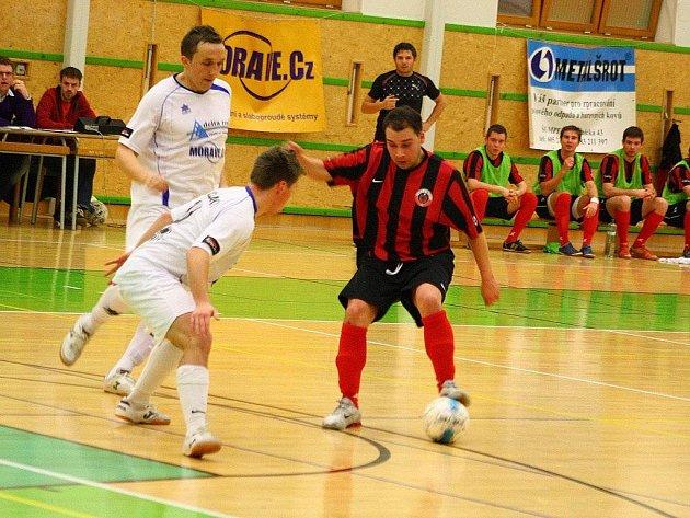 Delta Real Šumperk versus Andy Liberec (červené dresy)