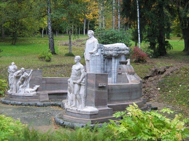 Priessnitzův pomník oslaví v příštím roce stoleté výročí od svého vzniku.