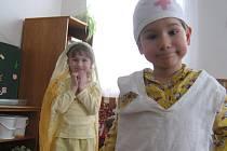 Děti z mateřské školy v Supíkovicích