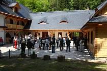 Slavnostní otevření Střediska ekologické výchovy Švagrov.