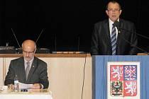 Ustavující zastupitelstvo v Šumperku v pátek 31. října 2014.