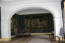 Interiér zámku ve Velkých Losinách