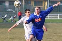 Mohelnice versus Morkovice (modré dresy).