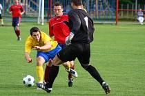 Mikulovice versus Šumperk (žluté dresy)