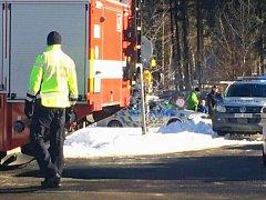 Policisté ve spolupráci s hasiči museli v neděli 22. ledna 2017 z lyžařského střediska na Ramzové kvůli anonymní hrozbě bombou evakuovat tři stovky lidí.