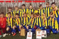 Šumperská fotbalová mládež vybojovala na pražském turnaji Pikatec Tours 2018 první místo.