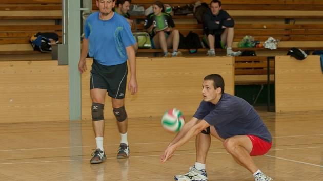 Snímky z volejbalového turnaje v Jeseníku.