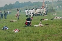 Připomínka bitev mezi rakouskými a pruskými vojsky z druhé poloviny 18. století se v  sobotu 6. srpna uskutečnila ve Zlatých Horách