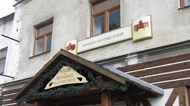 Restaurace Na Staré poště, Loučná nad Desnou