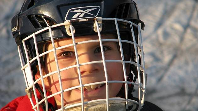 Malý hokejista.