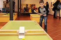 Nově otevřená herna v šumperském muzeu.
