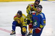 První trénink na ledě týmu šumperských mužů, který bude působit v krajském přeboru.