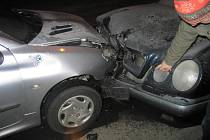Nehoda, která se stala v neděli 28. prosince v Nádražní ulici měl na svědomí opilý řidič.