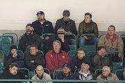 Hokejový zápas 2. ligy v Ostravě: Poruba vs. Šumperk