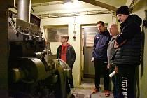 Kryt, ze kterého měla být v případě válečného konfliktu řízena železniční doprava na Moravě.