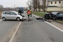 Nehoda v Šumperku 2. 12. 2019.