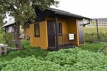 Šumperská zahrádkářská kolonie U Sanatoria v Šumperku v říjnu 2020.