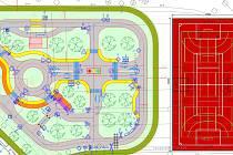 Návrh budoucí podoby školního hřiště u základní školy Severovýchod v Zábřehu