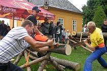 O mistra republiky bojovali v Javorníku nejlepší čeští dřevorubci
