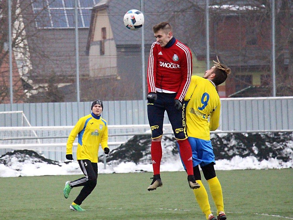 Šumperk v přípravě nasázel Ústí pět gólů