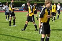 Losinští hráči (žluté dresy) jsou zase na druhém místě.