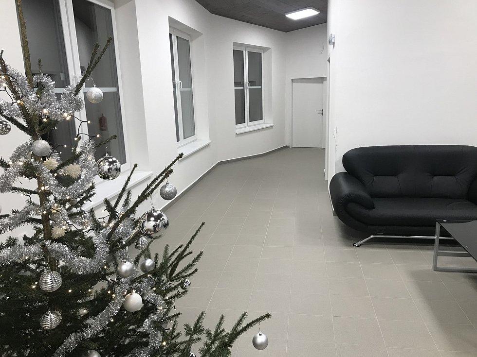Nové prostory domova pro seniory v Mohelnici.