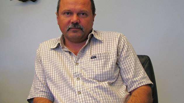 Generální ředitel společnosti Úsovsko se sídlem v Klopině Jiří Milek.