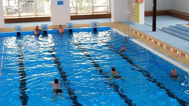 Krytý bazén v Mohelnici. Ilustrační foto