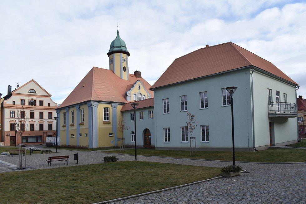 Město Javorník. Radnice