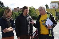 Žáci Základní školy Sluneční v Šumperku běželi maratón.