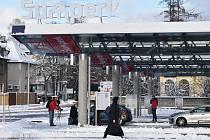 Nový přestupní terminál Šumperk - autobusové nádraží.