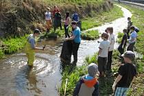 Mladí hasiči ze Šumperka–Temenice se v neděli 30. března zapojili do akce na úklid vodních toků. Společně vyčistili kus Bratrušovského potoka v Šumperku.