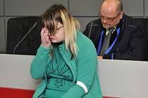 Žena obžalovaná z vraždy novorozence v Novém Malíně  před soudem.