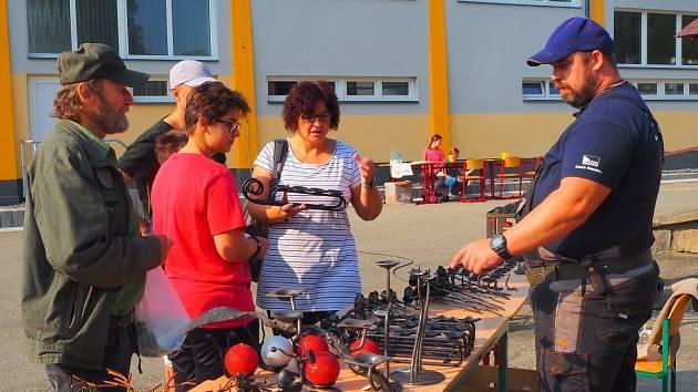 Festival medu v areálu SOŠ na Zemědělské ulici v Šumperku