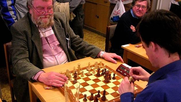 Šéf turnaje František Klézl během turnaje