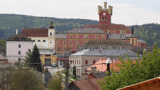 Věznice na hradě Mírov.