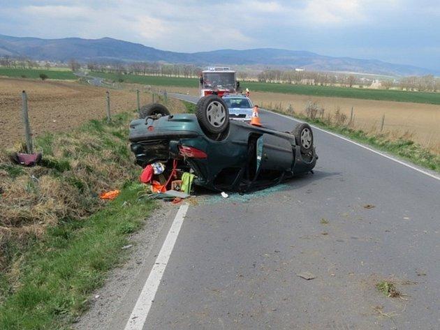 Snímky z místa nehod.