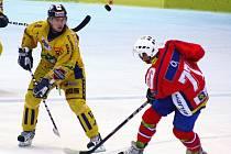 Hokejová příprava: Draci versus Třebíč (červené dresy)