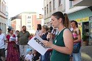 Demonstrace proti Babišovi v Šumperku - 11. 6. 2019