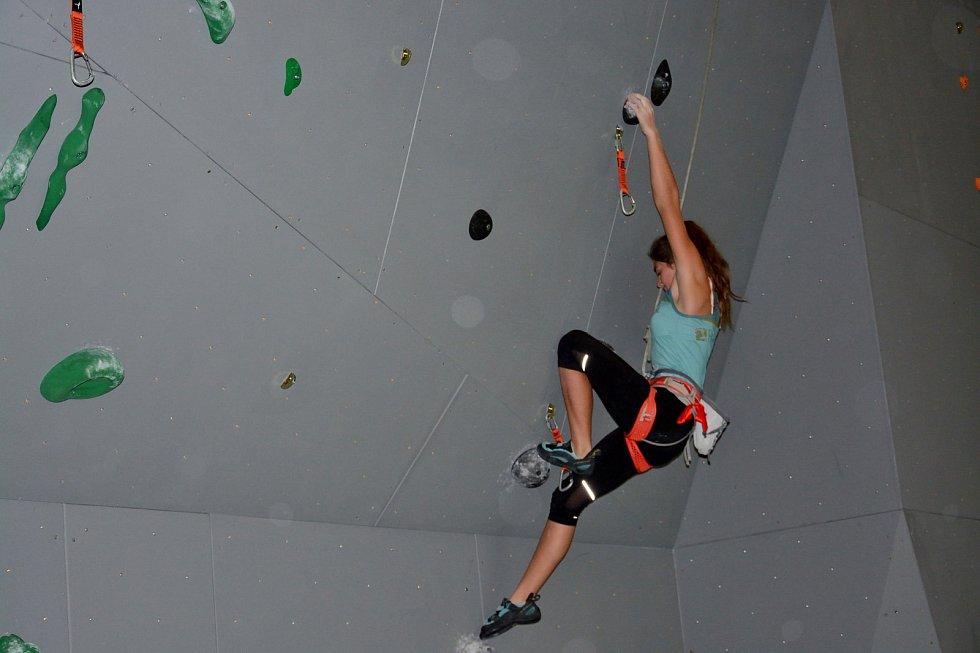 Mladým lezcům z Jeseníků se v Lipníku nad Bečvou dařilo.