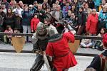Oslavy 750 let města Jeseníku - středověká slavnost.