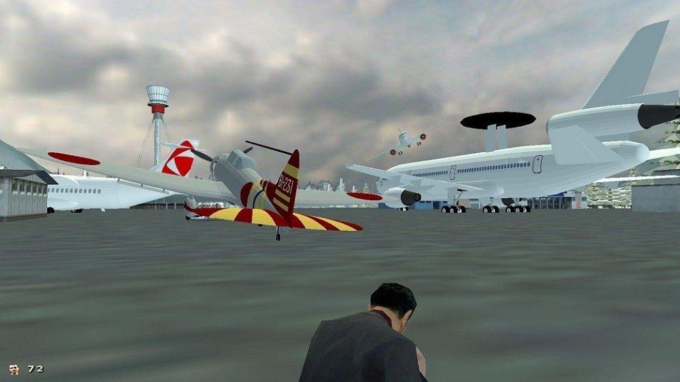 Známou počítačovou hru Mafia vsadil do reálií Jesenicka Michal Zajonc.